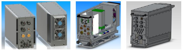 ATR design from initial concept, to preliminary thermal model, to final design prior to production